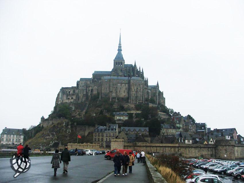 Perrengue em Mont Saint Michel