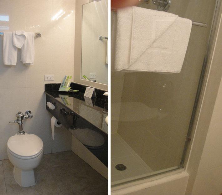 Continental banheiro