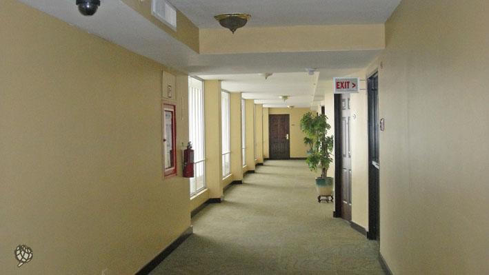 Continental corredor quartos