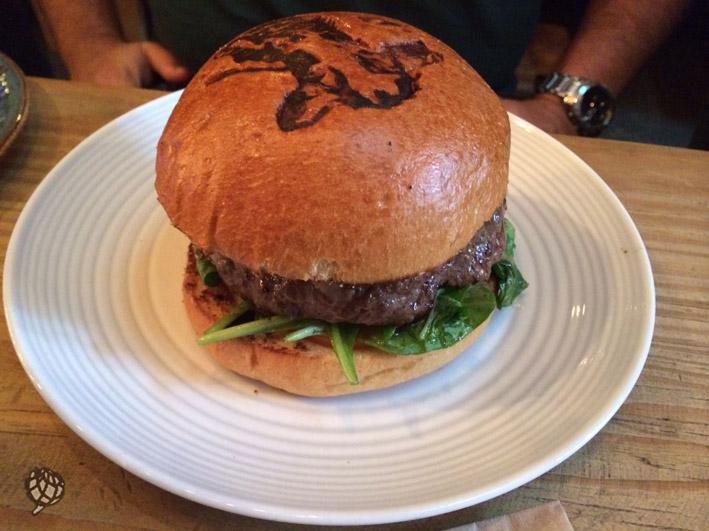 Fat Cow LA hamburguer