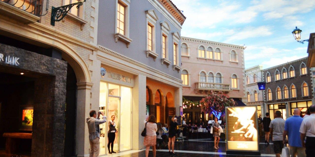 Grand Canal Shoppes em Las Vegas