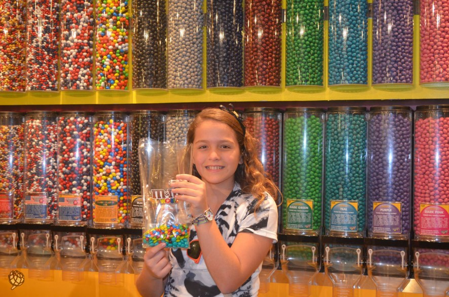 M&Ms store Las Vegas Leticia