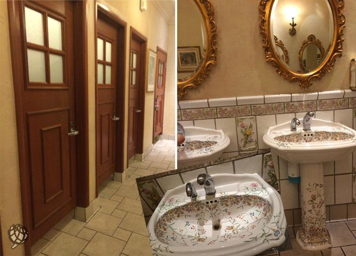 Paris Hotel banheiro visitante