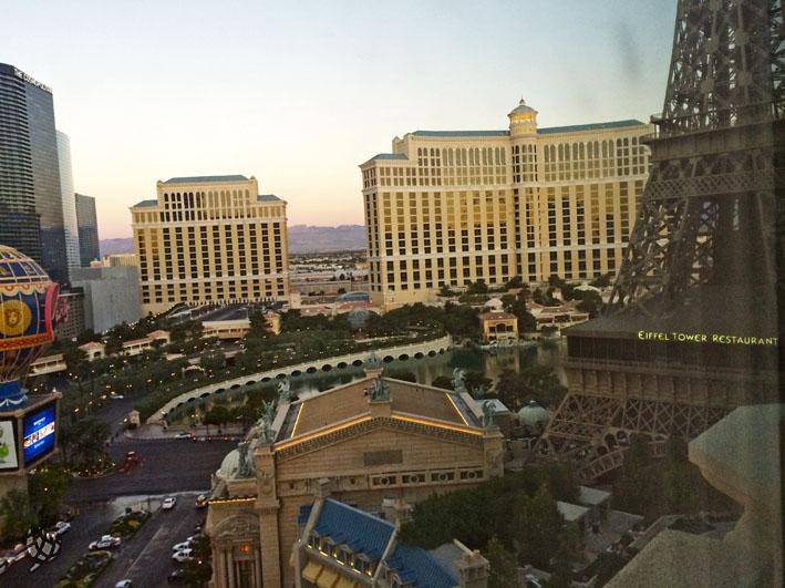 Paris Hotel vista dia