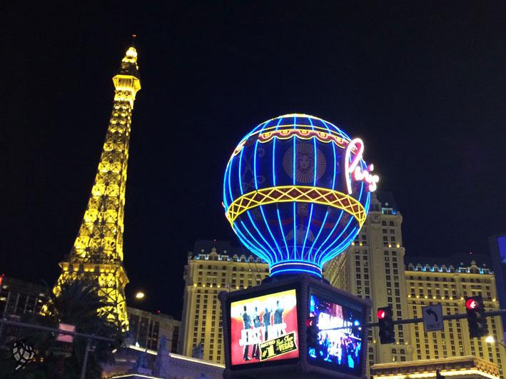 Paris Hotel em Las Vegas é show!
