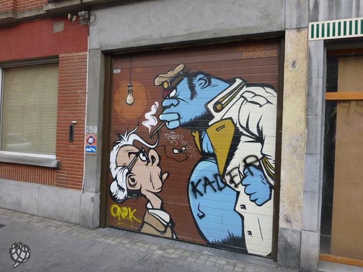 Bande desenhada Bruxelas1