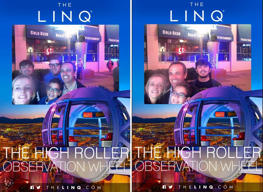 High Roller foto maquina