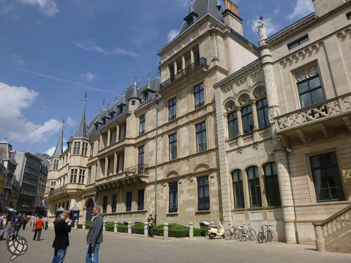 Luxemburgo Palacio Grand Ducal
