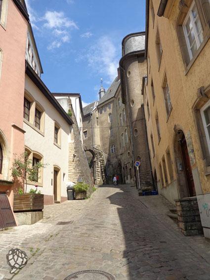 Luxemburgo ruas
