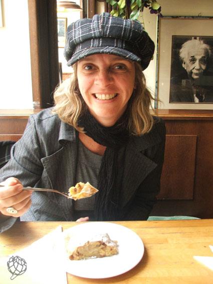 Cafe Einstein em Viena Strudel