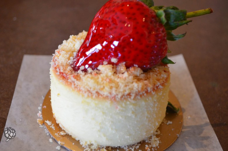 Carlos Bake Shop cheesecake