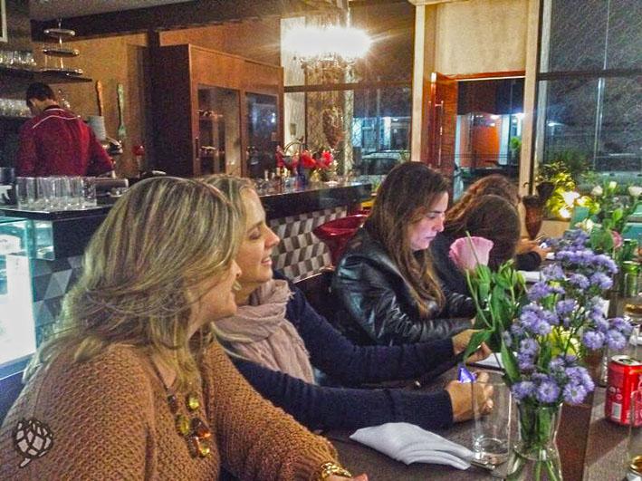 Du Vin decoraçao mesa