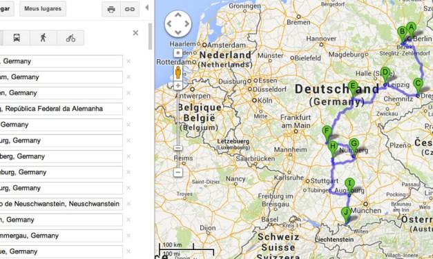 Roteiro de carro por 13 cidades na Alemanha