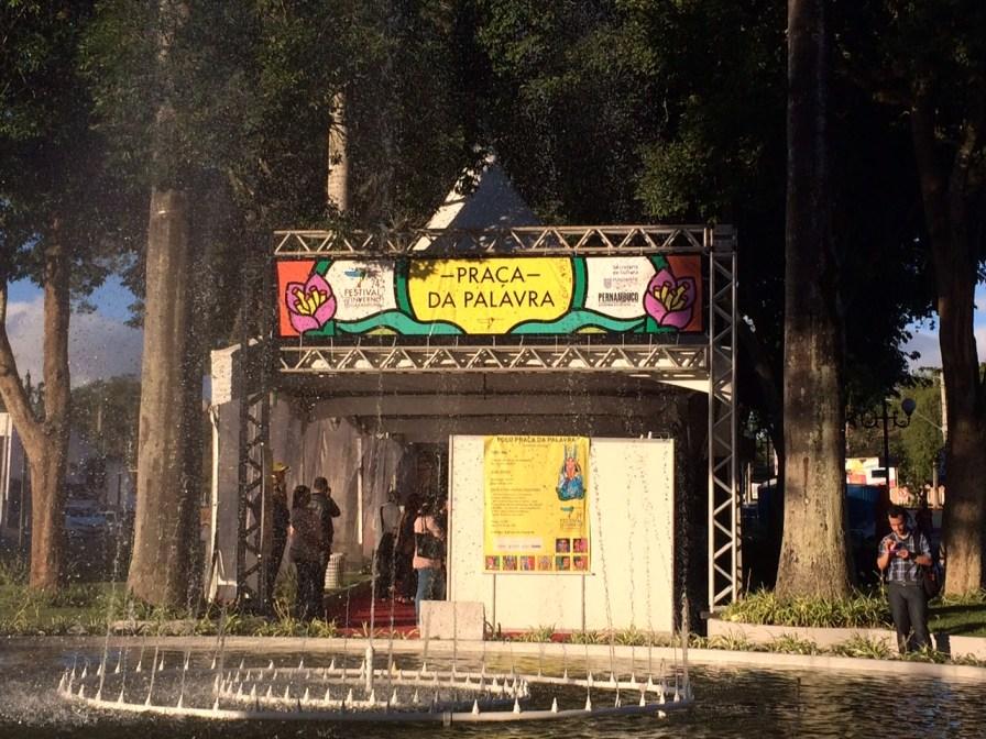 Festival de Inverno de Garanhuns - Praça da Palavra