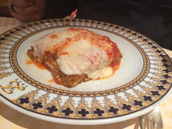 Zeffirino lasanha