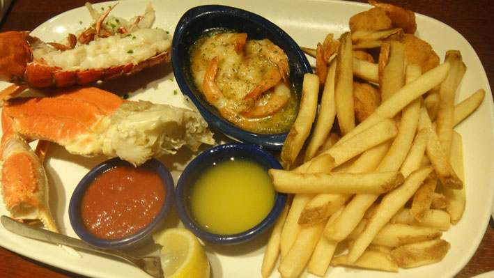 red Lobster Las Vegas prato1