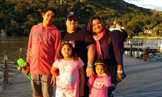Beto Carrero World com a família