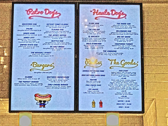Jantar-Las-Vegas-haute-Doggery-menu
