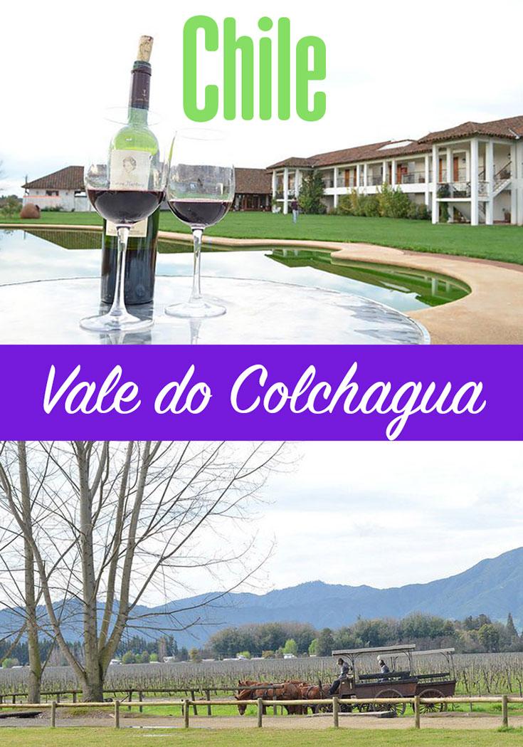 Vale do Colchagua no Chile