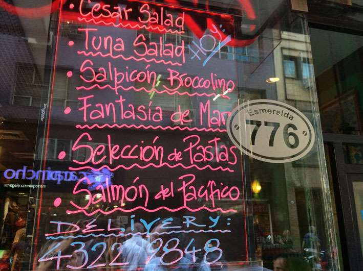 onde almocar em Buenos Aires 45