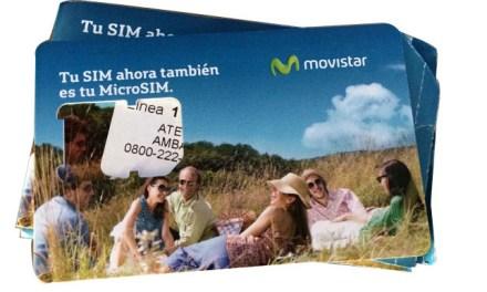 Celular pré-pago em Buenos Aires