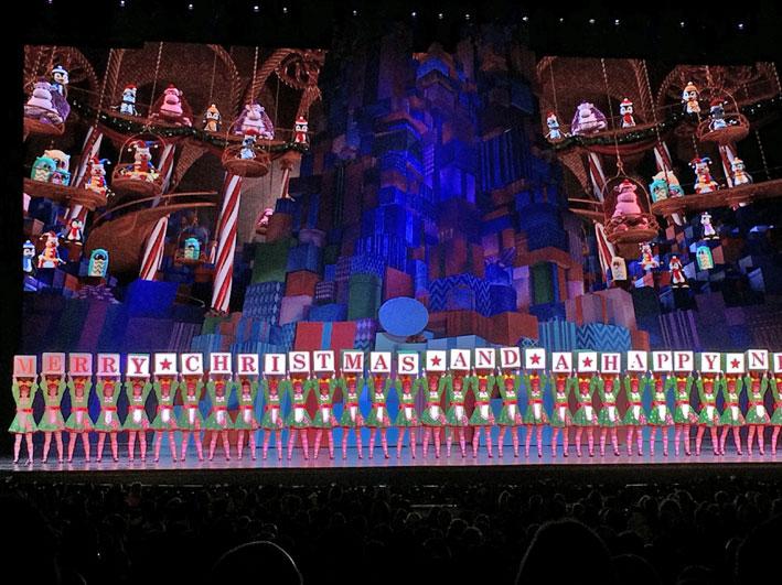 Como é o Radio City Christmas Spectacular em New York