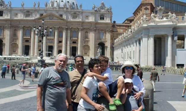 Portugal, Espanha e Itália em família