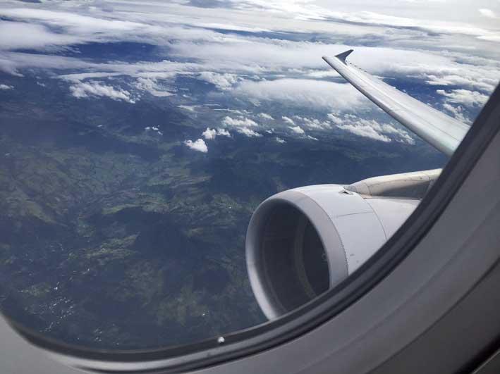 Como é voar com a LAN