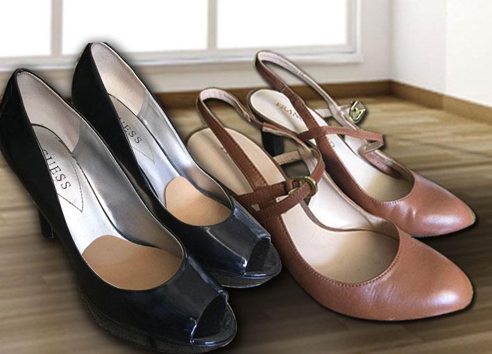 db00af3a93c74 Compras nos Estados Unidos  Sapatos de vários tipos. - Cantinho de Ná