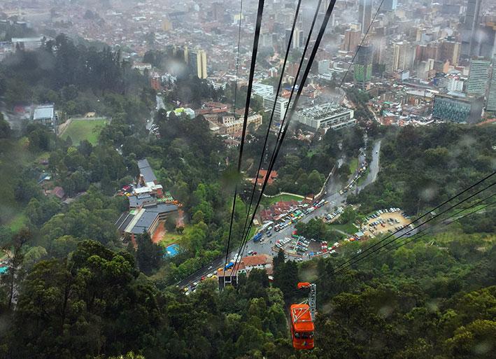 Cerro de Monserrate em Bogotá. Tudo sobre o passeio mesmo com chuva.