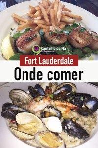 Onde comer em Fort Lauderdale