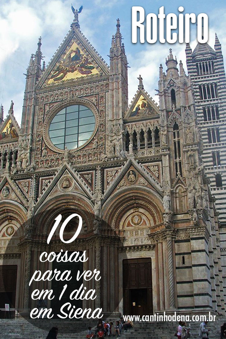 10 coisas para ver em 1 dia em Siena