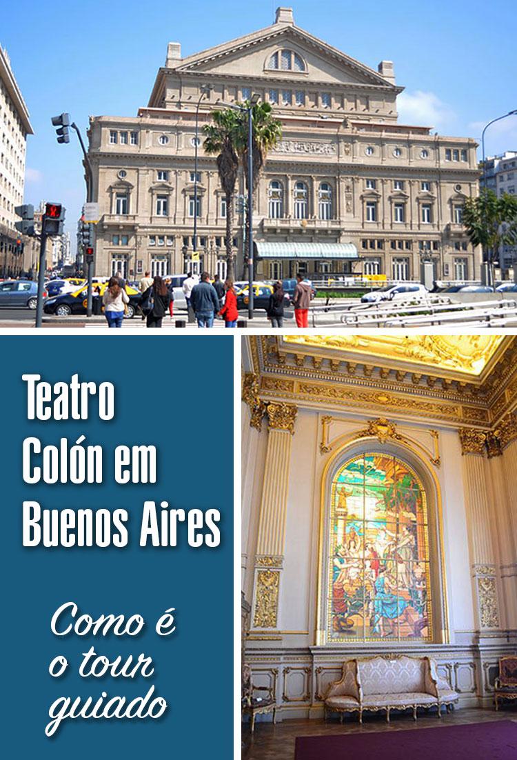 Tour guiado no Teatro Colon em Buenos Aires