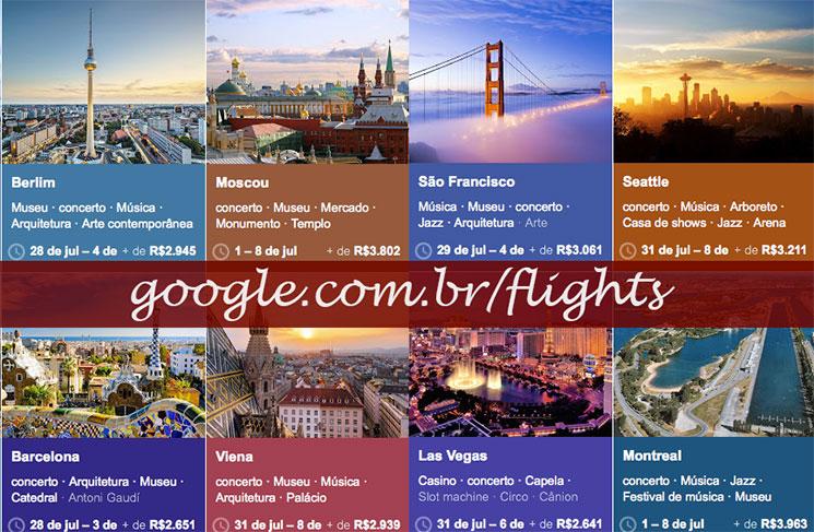 Como usar o Google Flights