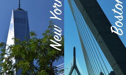 Viagem de carro de New York para Boston