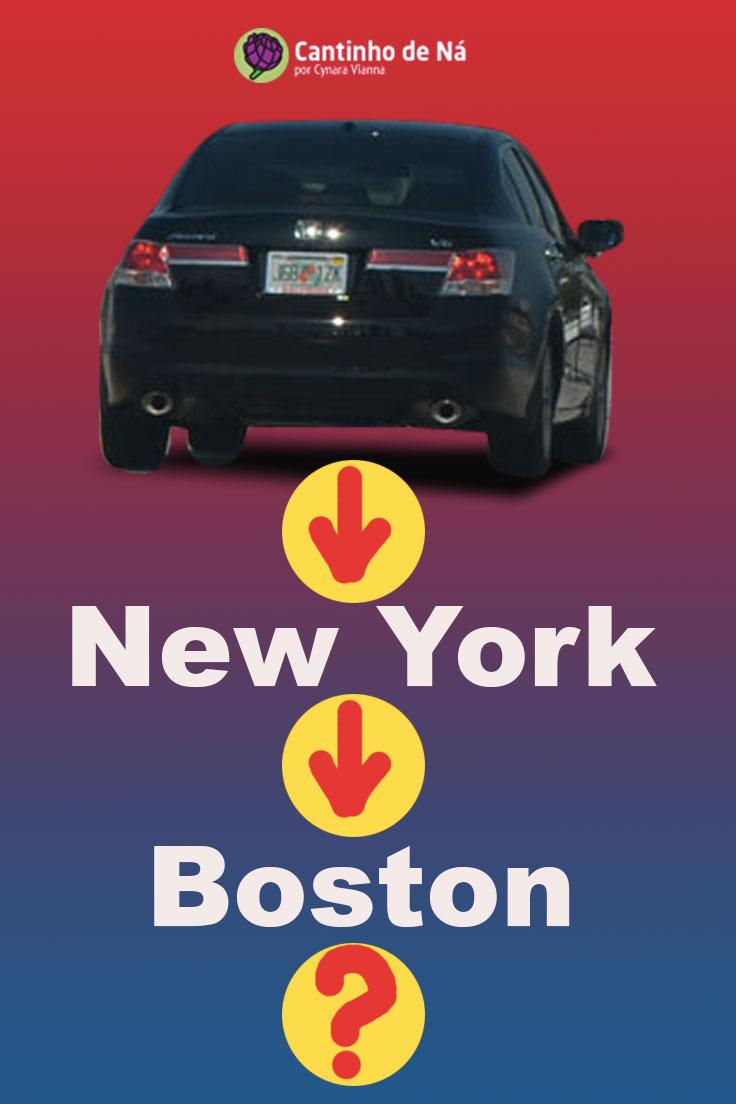 Viagem De Carro De New York Para Boston Cantinho De N 225