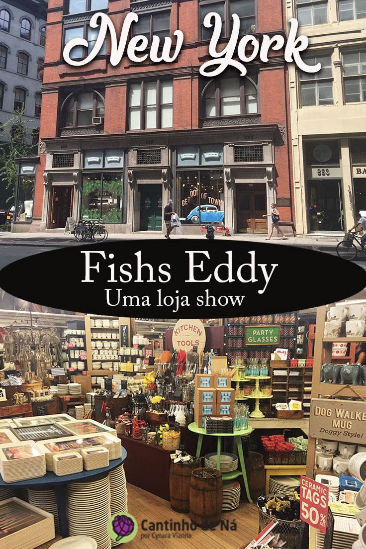 Fishs Eddy, uma loja show em New York