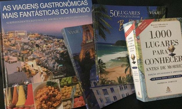 Lista com livros sobre viagens para inspirar