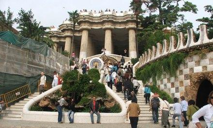 As belezas do Parque Güell em Barcelona