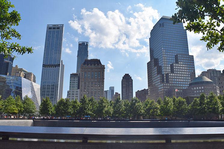 Sky line de New York