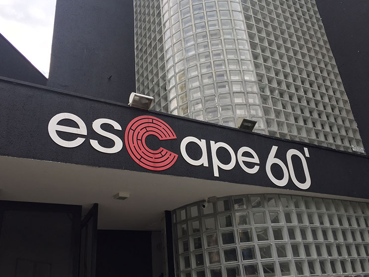 Jogo de fuga Escape60 em São Paulo