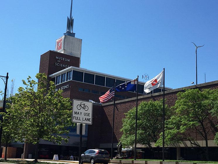 museu de ciencia em boston capa