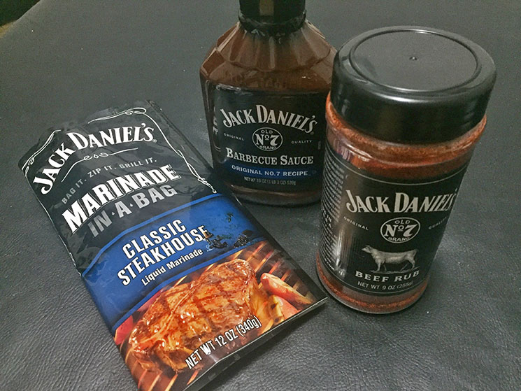 Molhos Jack Daniel's para churrasco