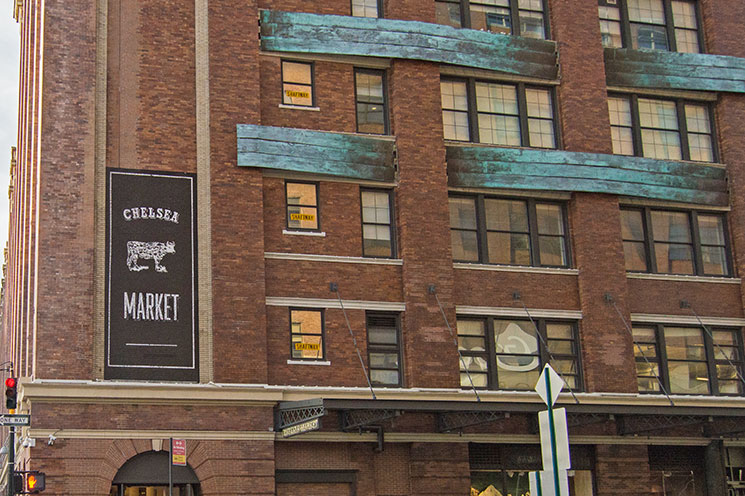 Fachada do Chelsea Market