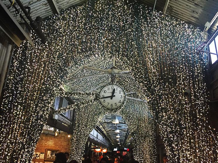 Relógio do Chelsea Market