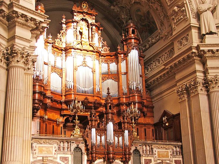 Órgão da Catedral de Berlim