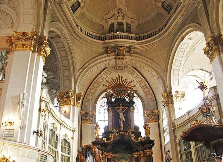 Igreja St Michael's em Hamburgo