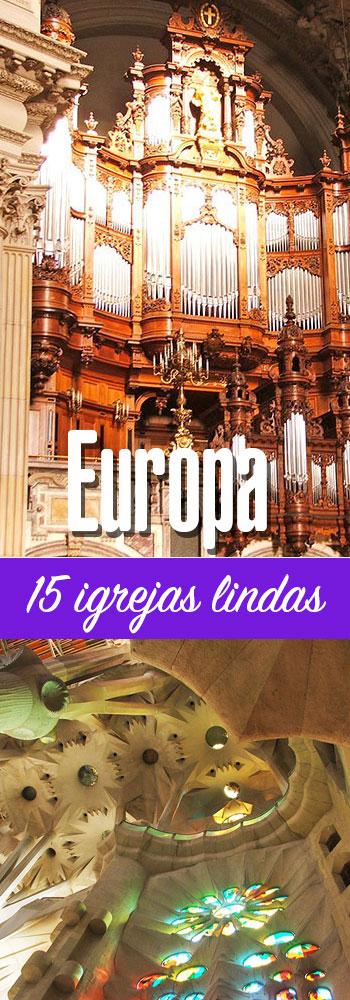 Igrejas na Europa para conhecer