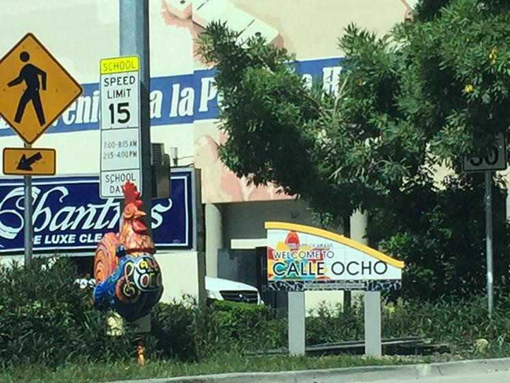 Chegada em Little Havana em Miami