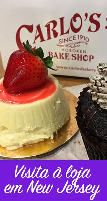 Visita à loja do Cake Boss em New Jersey